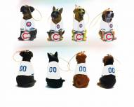 Chicago Cubs Team Dog Ornaments