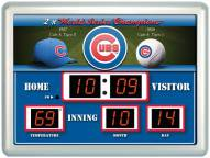Chicago Cubs Thermometer Scoreboard Clock