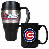 Chicago Cubs Travel Mug & Coffee Mug Set