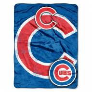 Chicago Cubs Triple Play Throw Blanket