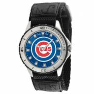 Chicago Cubs Veteran Velcro Mens Watch