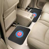 Chicago Cubs Vinyl 2-Piece Rear Floor Mats