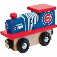 Chicago Cubs Wooden Toy Train