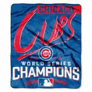 Chicago Cubs World Series Silk Touch Blanket