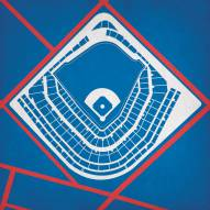 Chicago Cubs Wrigley Field Stadium Print