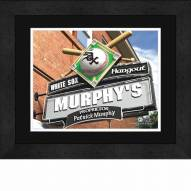 Chicago White Sox 13 x 16 Personalized Framed Sports Pub Print