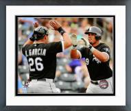 Chicago White Sox Avisail Garcia & Jose Abreu 2014 Action Framed Photo