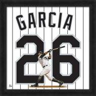 Chicago White Sox Avisail Garcia Uniframe Framed Jersey Photo