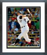 Chicago White Sox Carlton Fisk Action Framed Photo
