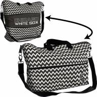 Chicago White Sox Chevron Expandable Tote Bag