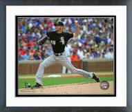 Chicago White Sox Chris Sale 2015 Action Framed Photo