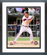 Chicago White Sox Conor Gillaspie 2014 Action Framed Photo