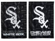 Chicago White Sox Double Sided Glitter Flag
