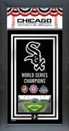 Chicago White Sox Framed Championship Print