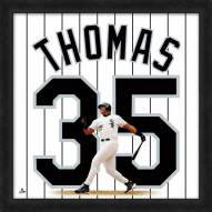 Chicago White Sox Frank Thomas Uniframe Framed Jersey Photo