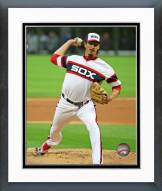 Chicago White Sox Jeff Samardzija 2015 Action Framed Photo