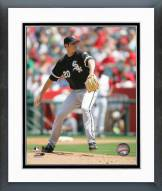 Chicago White Sox Jon Garland Pitching Action Framed Photo