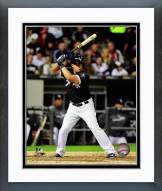 Chicago White Sox Jose Abreu 2014 Action Framed Photo