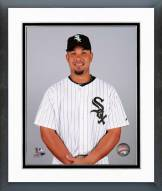 Chicago White Sox Jose Abreu 2014 Posed Framed Photo