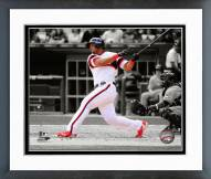 Chicago White Sox Jose Abreu 2014 Spotlight Action Framed Photo