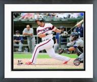 Chicago White Sox Jose Abreu 2015 Action Framed Photo