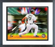 Chicago White Sox Jose Abreu Motion Blast Framed Photo