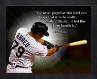 Chicago White Sox Jose Abreu Framed Pro Quote
