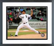 Chicago White Sox Jose Quintana 2014 Action Framed Photo