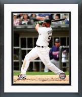 Chicago White Sox Melky Cabrera 2015 Action Framed Photo