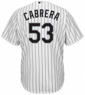 Chicago White Sox Melky Cabrera Replica Home Baseball Jersey
