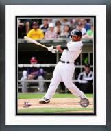 Chicago White Sox Micah Johnson 2015 Action Framed Photo