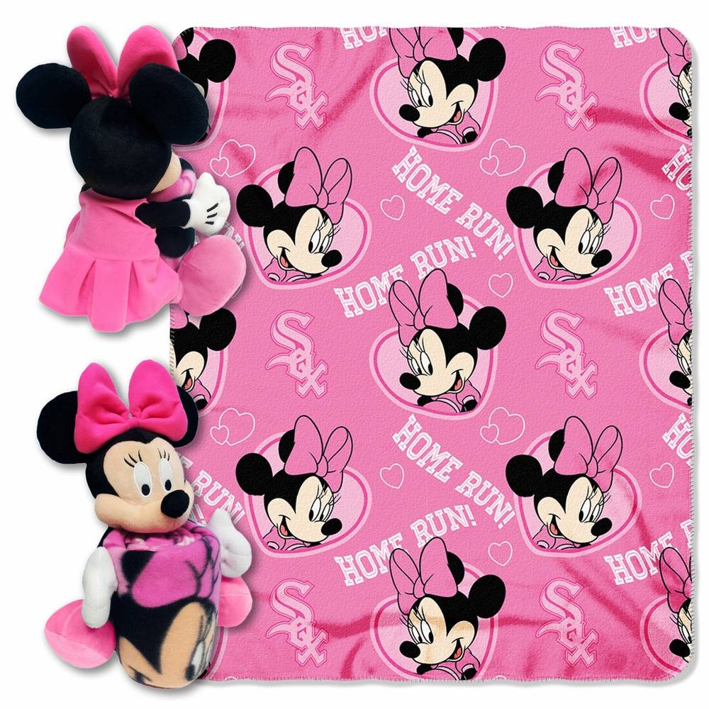 chicago white sox minnie mouse throw blanket