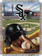 Chicago White Sox MLB Woven Tapestry Throw Blanket