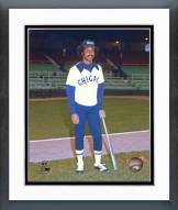 Chicago White Sox Oscar Gamble posed Framed Photo