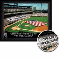 Chicago White Sox Personalized Framed Stadium Print