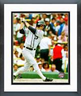Chicago White Sox Robin Ventura Action Framed Photo