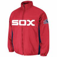 Chicago White Sox Scarlet Double Climate Jacket