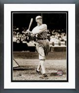 Chicago White Sox Shoeless Joe Jackson Batting Framed Photo