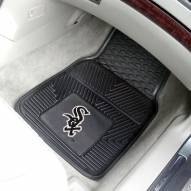 Chicago White Sox Vinyl 2-Piece Car Floor Mats
