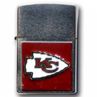 Kansas City Chiefs Large Emblem NFL Zippo Lighter