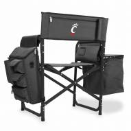 Cincinnati Bearcats Gray/Black Fusion Folding Chair