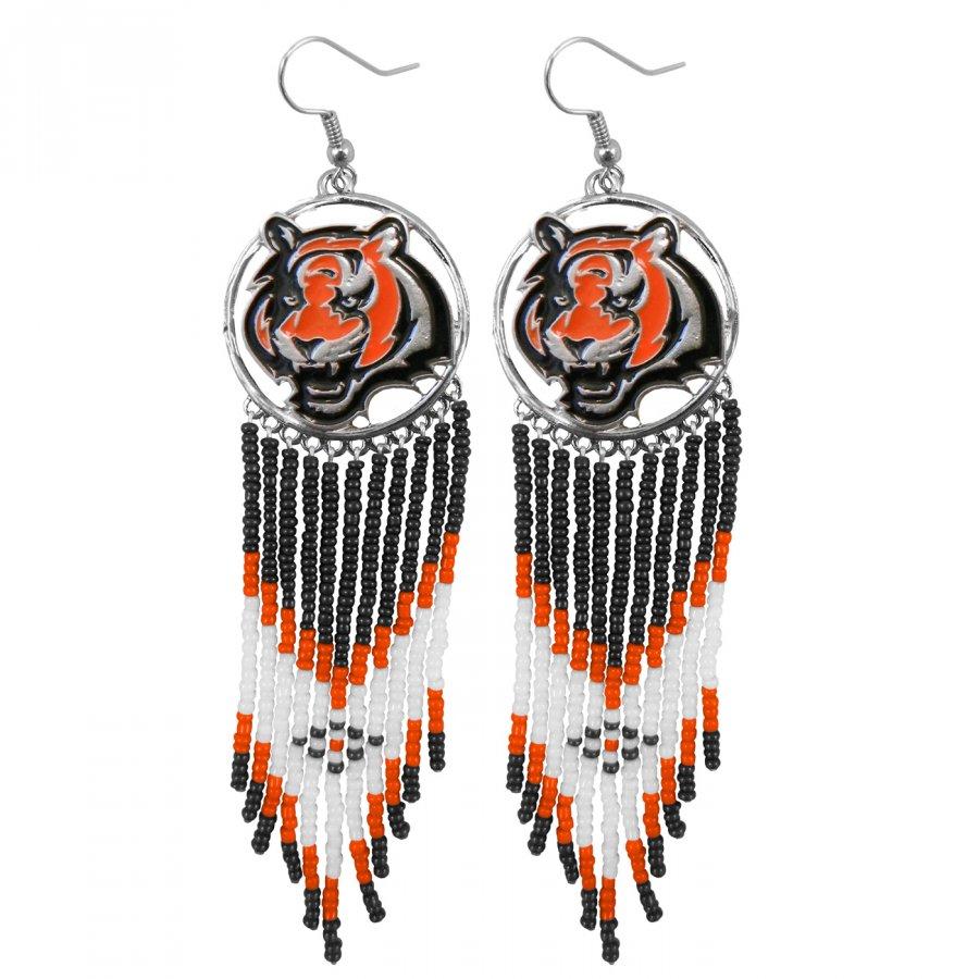Cincinnati Bengals Dreamcatcher Earrings