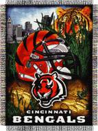 Cincinnati Bengals NFL Woven Tapestry Throw