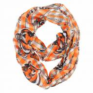 Cincinnati Bengals Plaid Sheer Infinity Scarf