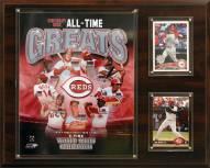 "Cincinnati Reds 12"" x 15"" All-Time Great Photo Plaque"