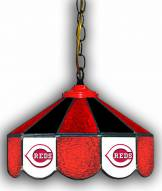 """Cincinnati Reds 14"""" Glass Pub Lamp"""