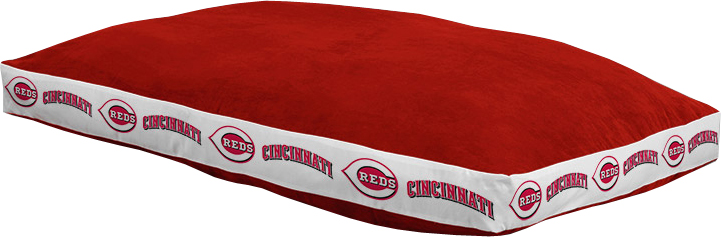 "Cincinnati Reds 26"""" x 37"""" Dog Bed"