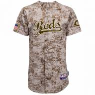 Cincinnati Reds Authentic Camo Alternate Baseball Jersey