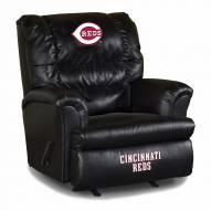 Cincinnati Reds Big Daddy Leather Recliner