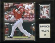 "Cincinnati Reds Brandon Phillips 12"" x 15"" Player Plaque"
